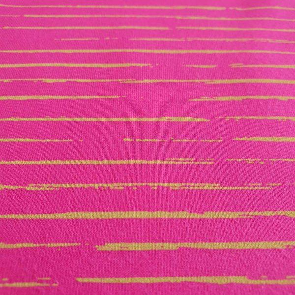 Stripey Lines – Pink – Jersey