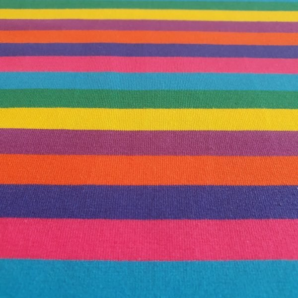 Rainbow Stripes – Jersey
