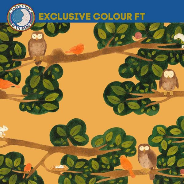 Treetops – Exclusive French Terry