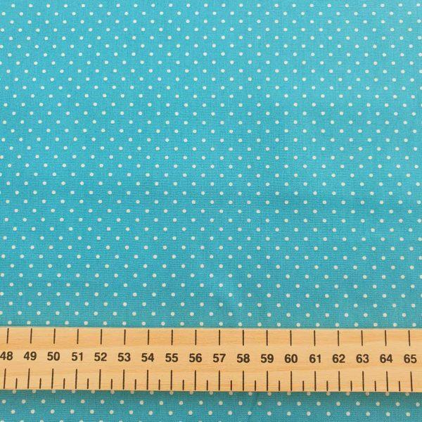 Turquoise Spots – Cotton