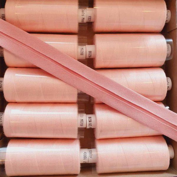 Vintage Pink – Jersey Bias Binding