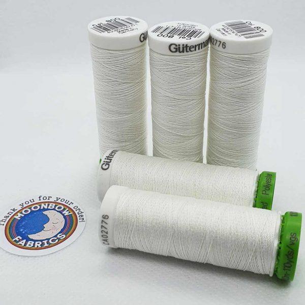 Gutermann rPET Thread White 800