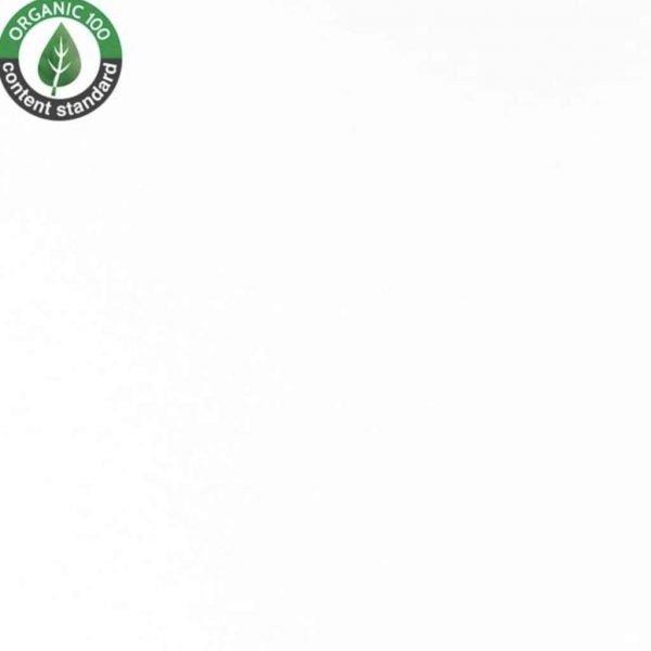 White – Organic Jersey