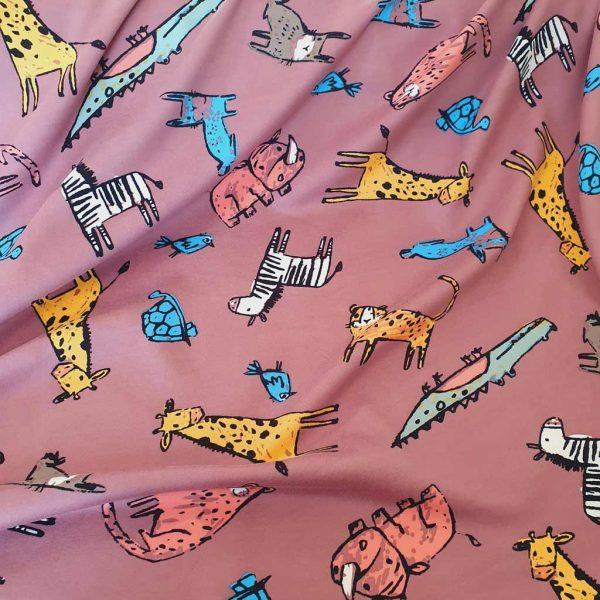 Wild Doodles – Sweatshirt – Fleece Back