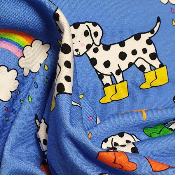 Dalmatians in Mud Boots – Blue –  Exclusive Jersey