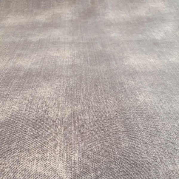 Demin look grey jersey fabric
