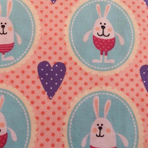 I Heart Rabbits – Cotton Poplin