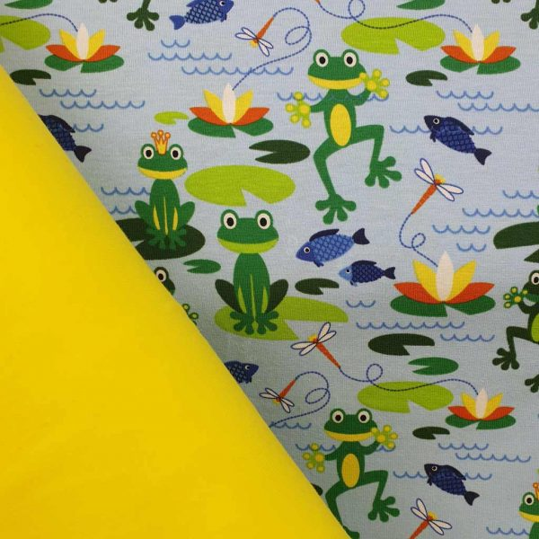 Jumping Frog/Yellow Bundle – Jersey