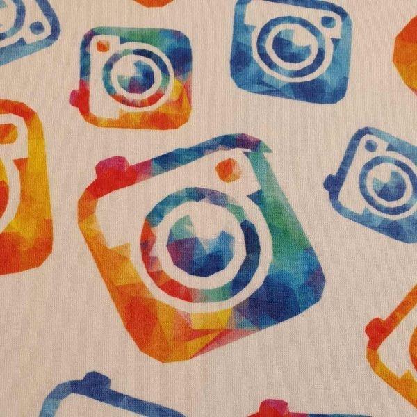 Cameras – Blue – Organic Jersey – Fault