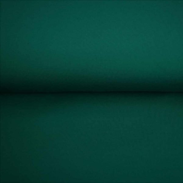 Peacock green solid jersey fabric