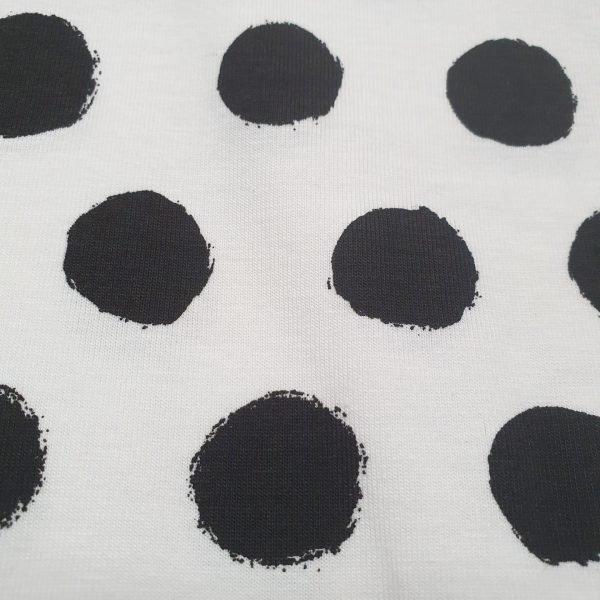 Peek-a-Boo Dots White – Jersey