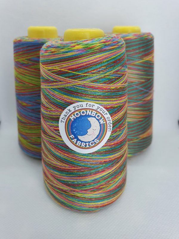 Rainbow overlocker thread