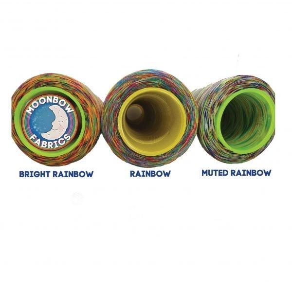 Muted Rainbow Overlocker Thread