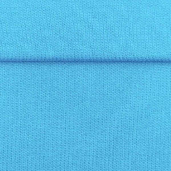 Water Blue – Jersey Tubular Ribbing